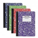718103231978Staples Composition Notebook, Wide Ruled, 9-3/4 x 7-1/2, 100 Sheets