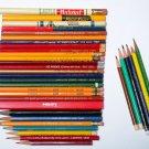 VTG Pencil lot MONGOL EAGLE Chemi-Sealed VIKING 34 Pencils 21 unused Generals