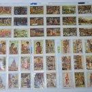 1934 Droste's 42 picture cards Cacao Java Dutch India Album 1 Pastilles Bonbons
