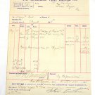 8/1888 Shenandoah Valley Railroad Co. Receipt Bill shipping cargo Antique R/R 88