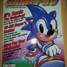 GamePro Magazine Sonic The Hedgehog Genesis Number 23 June 1991 Anniversary