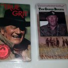 New Sealed VHS The Green Berets and True Grit with John Wayne 2 Tapes