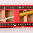 1949 Dritz Tracing Wheel No. 635 with Bakelite Handle New in Box Vintage