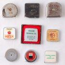 Red Ace Roe Comet Lot of 10 Vintage Tape Measure San Diego Advertising Pocket