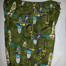The Simpsons Bart Homer Krusty Board Shorts Size 32 Tiki Surfer Hawaiian Ear Wax