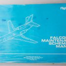 Dassault Falcon 50 Flight Safety Maintenance Schematic Manual Airplane Repair