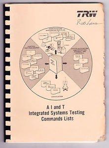 NASA TRW Spacecraft Information Booklet Space Shuttle Satellite FLTSATCOM Book