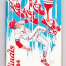 1984 St. Louis Cardinals Media Guide MLB Baseball Team Roster 144 pages