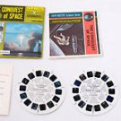 1968 THE CONQUEST OF SPACE ASTRONAUTICS B681 View-master Viewmaster View master