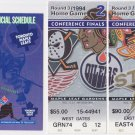 1994 Toronto Maple Leafs Conference Finals Ticket Stubs vs. Vancouver Canucks