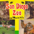 San Diego Zoo Book Vintage 24 pages Balboa Park California COLOR PHOTOS