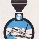 Air California Flight Schedule Time Table July 1, 1972 Disneyland Express