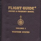 1964 Flight Guide Airport & Frequency Manual Volume 1 Western States AIRGUIDE