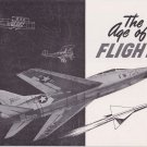 1950's The Age of Flight Book Airplane History Sikorsky Pratt & Whitney UAC