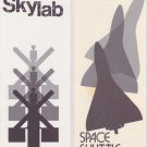 1972 NASA Skylab Original & Space Shuttle Concept Brochure Lot of 2 Pamphlets