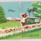1954 Travelodge Hotel Motel Index Pocket Book Sleepy Bear 90 pages