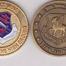 Challenge Coins Lot of 4 USAF NORAD Air Force CHEYENNE MOUNTAIN USSPACECOM