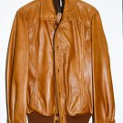HUC Sweden unworn Leather Jacket New old stock w/ tags 1960s Vintage BEST OFFER!