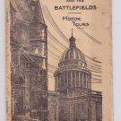 1925 How To See Paris Environs Battlefields Motor Tours Thomas Cook & Sons Book