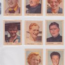 1952 Olympic 41 Cigarette Tobacco cards Card Parade Virginia Dutch Star athletes