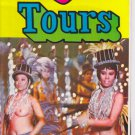 1964 HATO Tokyo Japan Bus Tours Topless Dancers Gray Line Brochure Sightseeing