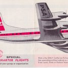 1962 PSA Pacific Southwest Airlines timetable Flight Schedule Lockheed 5/62