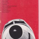 1973 PSA Pacific Southwest Airlines timetable Flight Schedule October 10/1/73