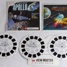 1964 Apollo Project B658 View-Master 3 Reels & booklet ViewMaster Man on Moon