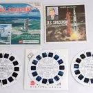 U.S. Spaceport B662 View-Master 3 Reels & booklet ViewMaster NASA JFK Space CTR