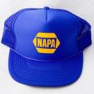 NAPA auto Parts Racing SnapBack Hat Cap Mesh Trucker NEW NWOT NOS Vintage