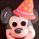 Mickey Mouse Mask Fantasia Ben Cooper Halloween Costume Disney World Vintage