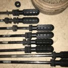 """Foosball Table Rods Set of 8 Solid 5/8"""" Steel Rod for Standard Table Soccer"""