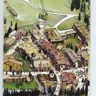 VAIL COLORADO Ski Resort MAP 1988 Ex Condition Vintage White River Forest