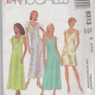 Easy McCall's 9313 Dresses in 2 Lengths  Pattern Uncut Size B  8 10 12
