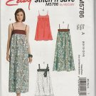 Easy Stitch n Save McCalls M5786  Jumper Dress Pattern Size A  6 8 10 12 14