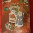 Janlynn Decorating the Claus' Felt Stocking Kit NIP
