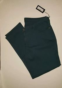 NWT James Jeans TWIGGY 4-Pocket Legging Teal Blue size 22 $167 Retail