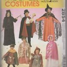 McCall's Costumes 2854 Children Boys Girls Tunic and Cape Costumes
