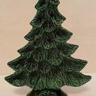 Vintage 1981 Nowells Mold Ceramic Christmas Tree Nut Candy Dish 11.5""