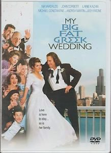 My Big Fat Greek Wedding (DVD, 2003, Widescreen & Full Frame)   QUICK SHIP