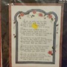 1988  Janlynn Counted Cross Stitch Kit  # 50-954 TIME TO PRAY  NIP