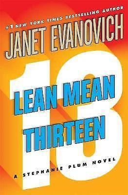 Stephanie Plum Novels Lean Mean Thirteen 13 by Janet Evanovich (2007, Hardcover)