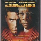 The Sum of All Fears (DVD, 2002)