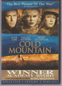 Cold Mountain (DVD, 2004, 2-Disc Set, Special Edition)