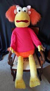 Fraggle Rock Red Large Jumbo Plush Toy 50 inches tall  New With Tags