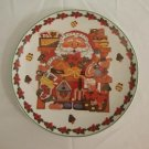 Royal Norfolk SANTA  Christmas Salad Plate Decorative