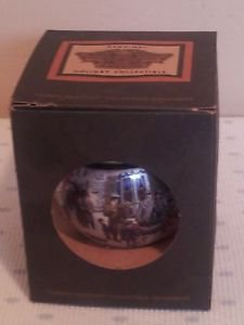 Harley Davidson 1998 Family Portrait Collectible Holiday Bulb Ornament