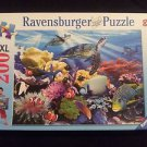 Ravensburger 200 Piece Ocean Turtles Jigsaw Puzzle # 126088 Age 8 and up EUC