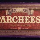 PARCHEESI DELUXE EDITION, 1989 Milton Bradley Purple Box Near Mint Condition