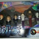 Harry Potter Gift Set PEZ Dispensers 6 Characters  Collectible Set